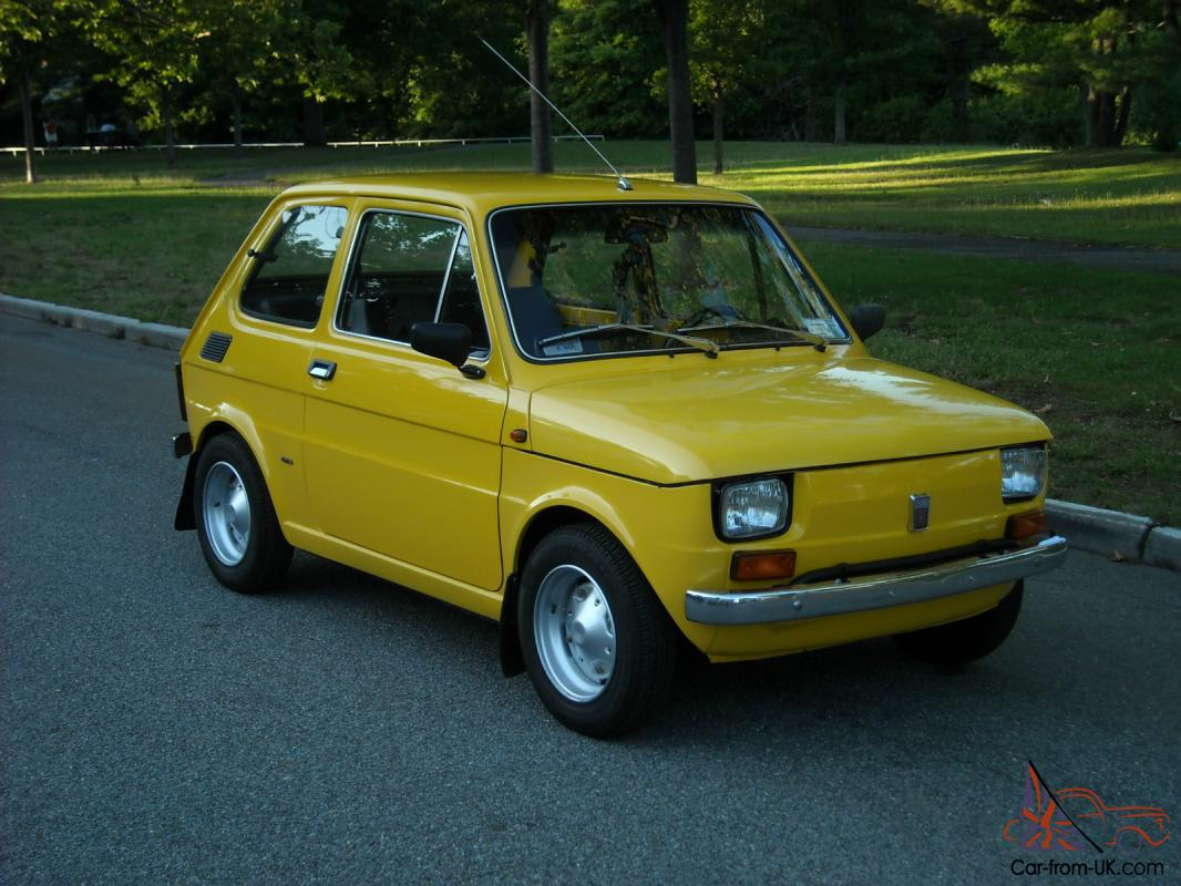 1976 fiat 126 p successor of the legendary fiat 500 one of one. Black Bedroom Furniture Sets. Home Design Ideas