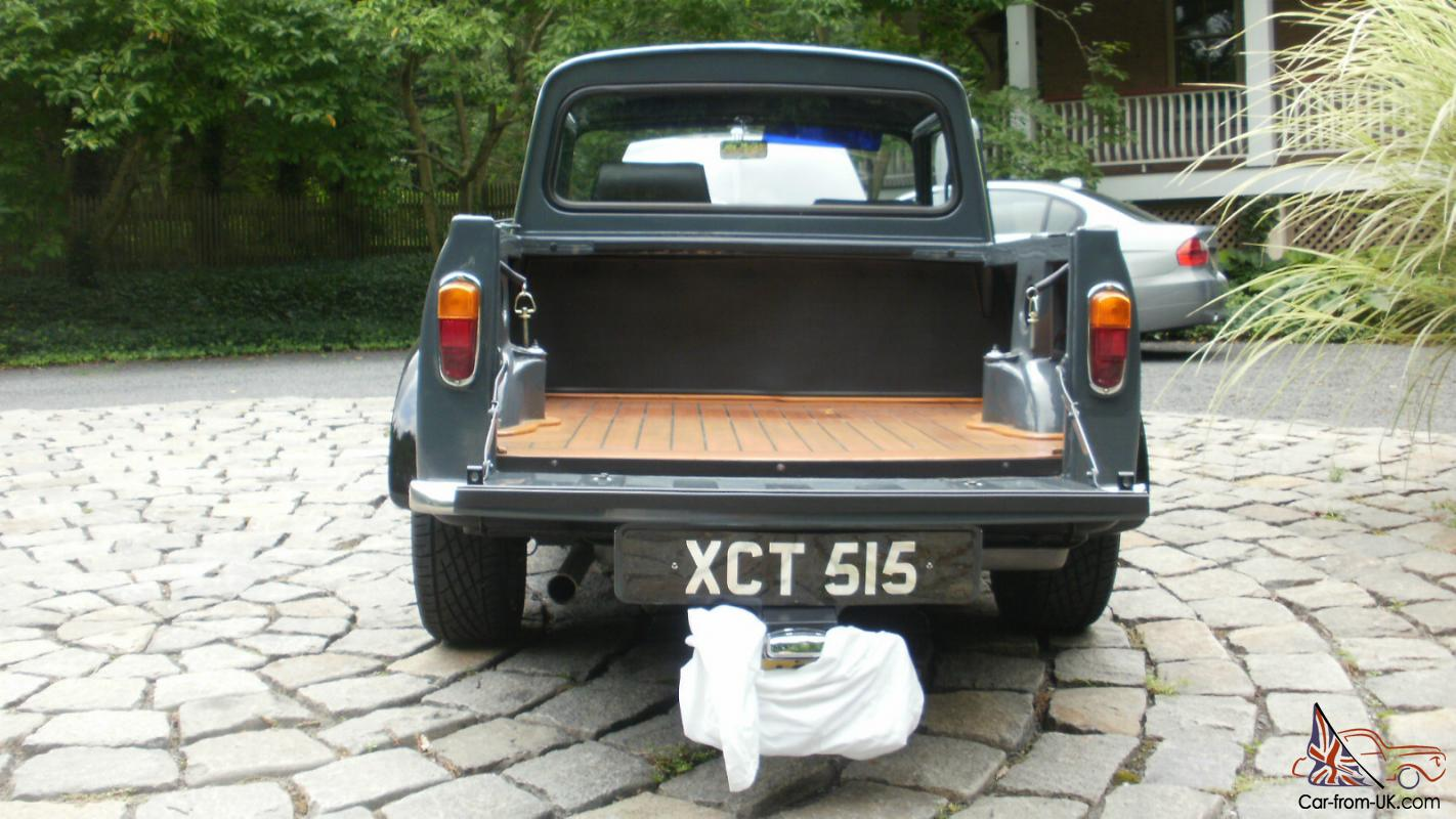 morris mini cooper pickup 1963 right hand drive. Black Bedroom Furniture Sets. Home Design Ideas