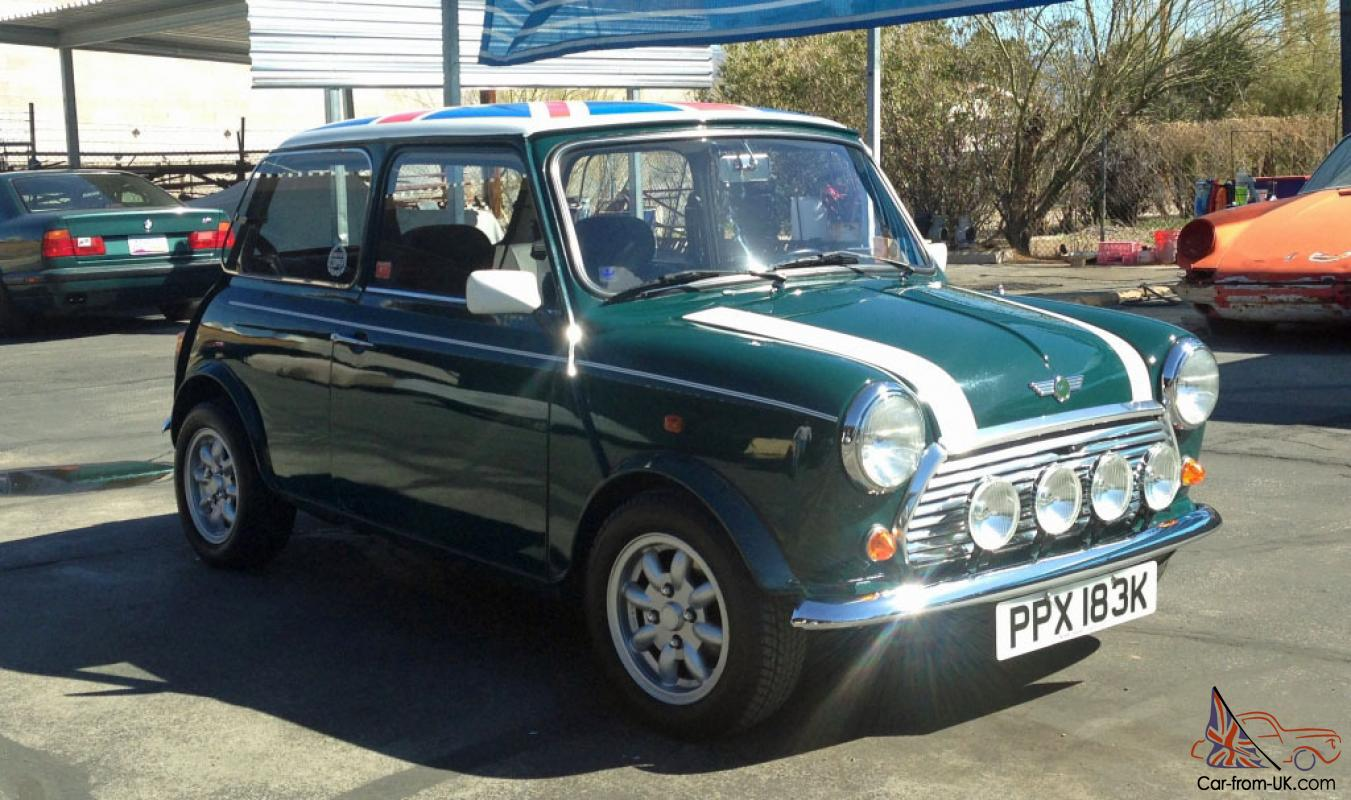 1971 Mini Cooper 1000 Saloon British Green Union Jack Full Resto No
