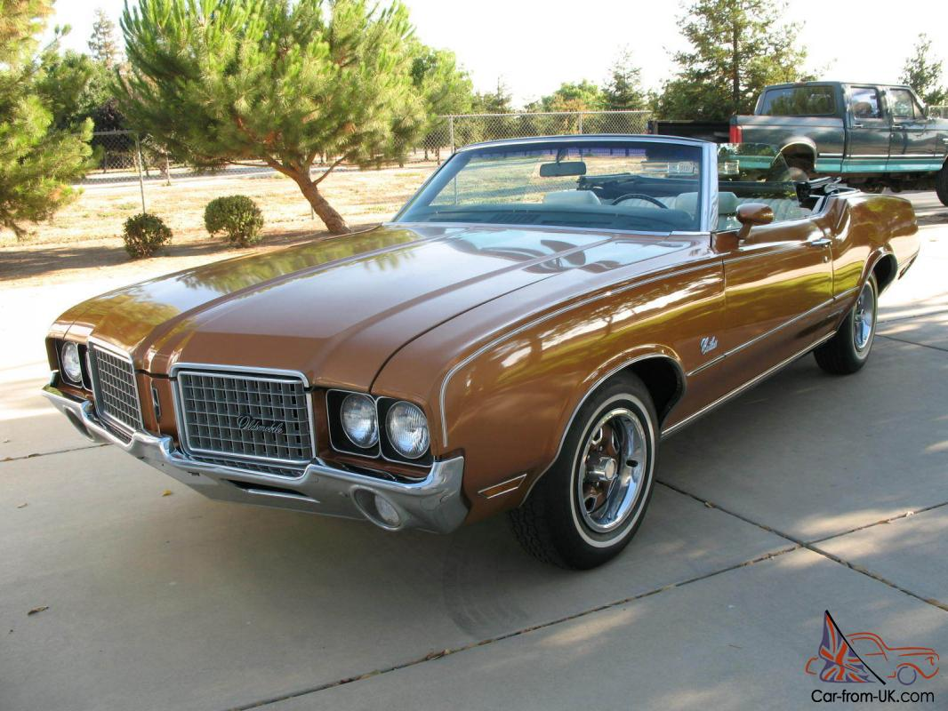 1972 oldsmobile cutlass supreme convertible survivor 48k original miles ca car. Black Bedroom Furniture Sets. Home Design Ideas