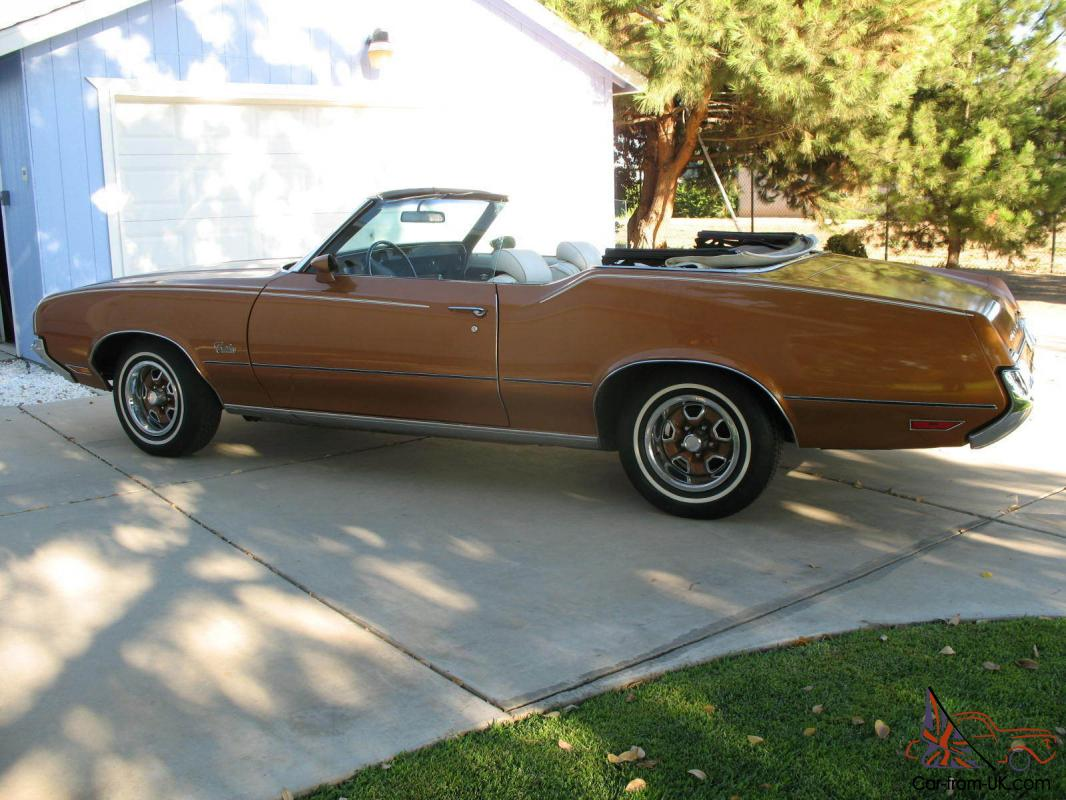 Cars For Sale Fresno Ca >> 1972 Oldsmobile Cutlass Supreme Convertible Survivor! 48K original Miles! CA Car