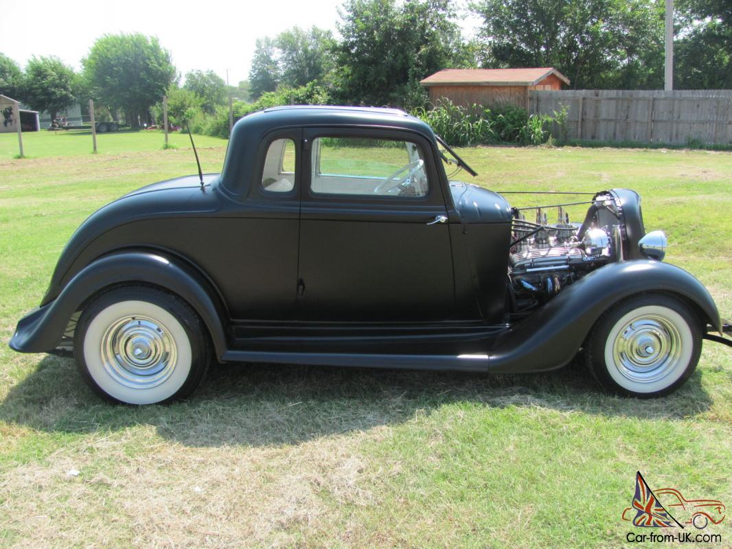 1934 1933 1932 Deuce Coupe Plymouth Ford Hot Rod Rat Rod