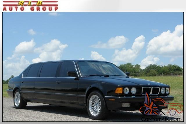 1988 750il custom stretch limousine one owner 29 000 original miles like new. Black Bedroom Furniture Sets. Home Design Ideas