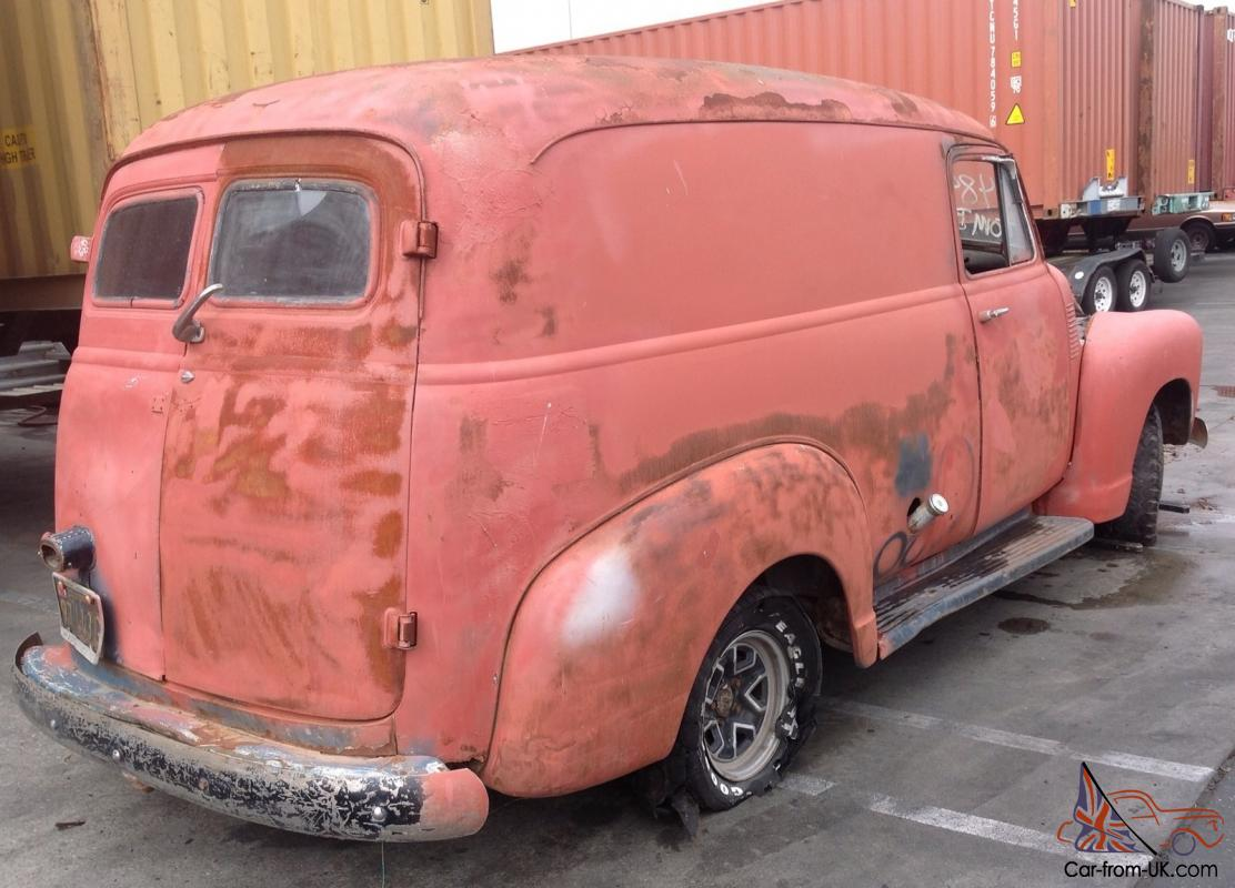 1949 Chevrolet Panel Truck Chevy Delivery Van Pick Up 1950
