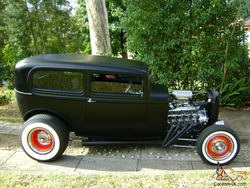 Ford HOT ROD Tudor 1932 Collector CAR RAT ROD Custom 32 Hotrod in ...