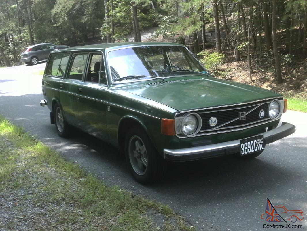 1973 volvo 145 wagon low miles 4 speed w overdrive new tires rare rust free. Black Bedroom Furniture Sets. Home Design Ideas