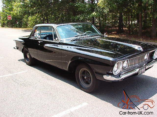 1962 plymouth sport fury with authentic max wedge eng trans. Black Bedroom Furniture Sets. Home Design Ideas