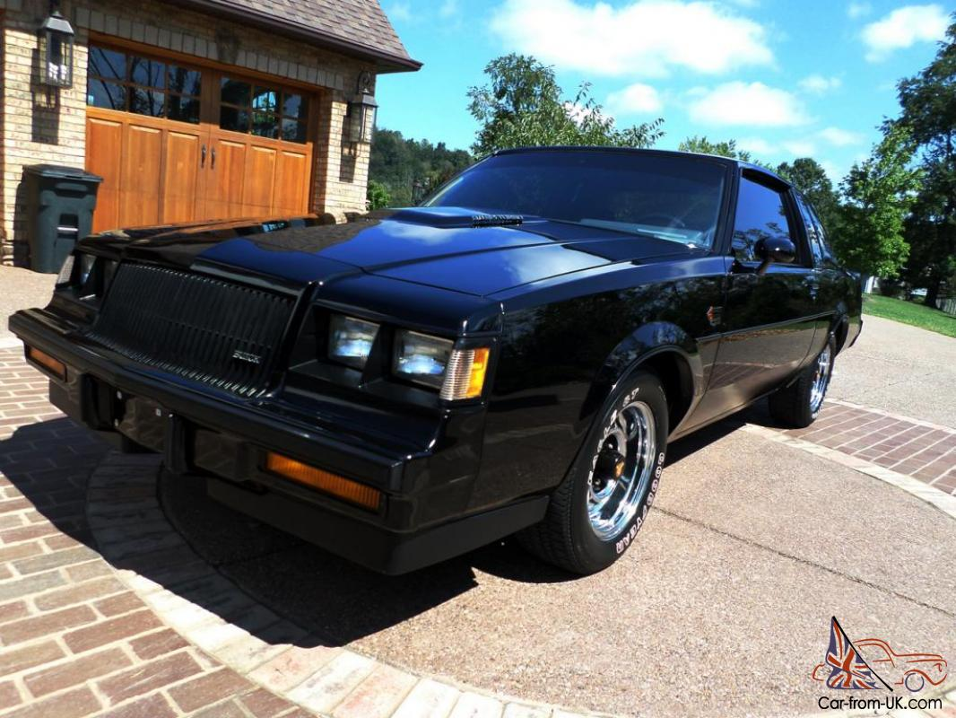 1987 buick grand national with gnx upgrades. Black Bedroom Furniture Sets. Home Design Ideas