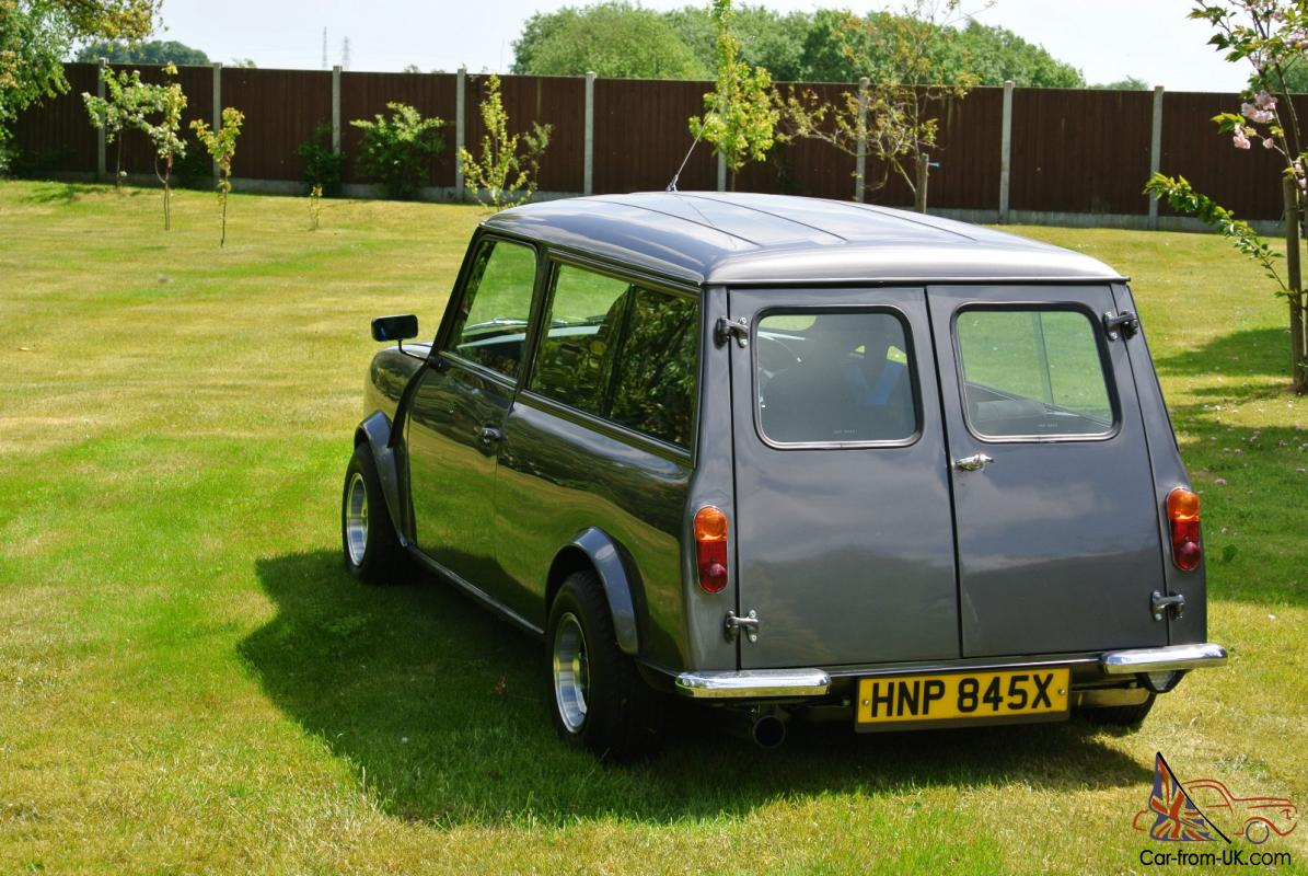 Austin Morris Mini Clubman Estate Meteor Grey