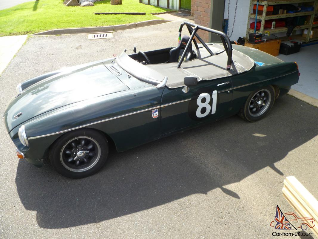 Mgb Historic Race Car Sb Category No Engine In Melbourne Vic