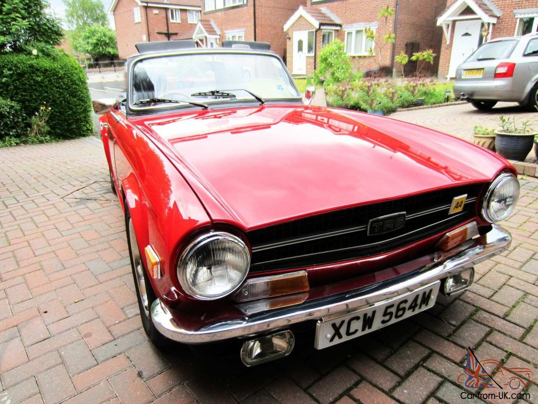 Triumph Tr6 1974 Taxfree Beautiful With Lots Of Useful Upgrades
