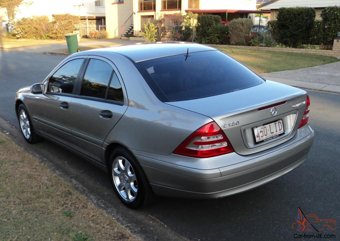 mercedes benz c180 2003 kompressor classic 5spd auto in brisbane qld. Black Bedroom Furniture Sets. Home Design Ideas