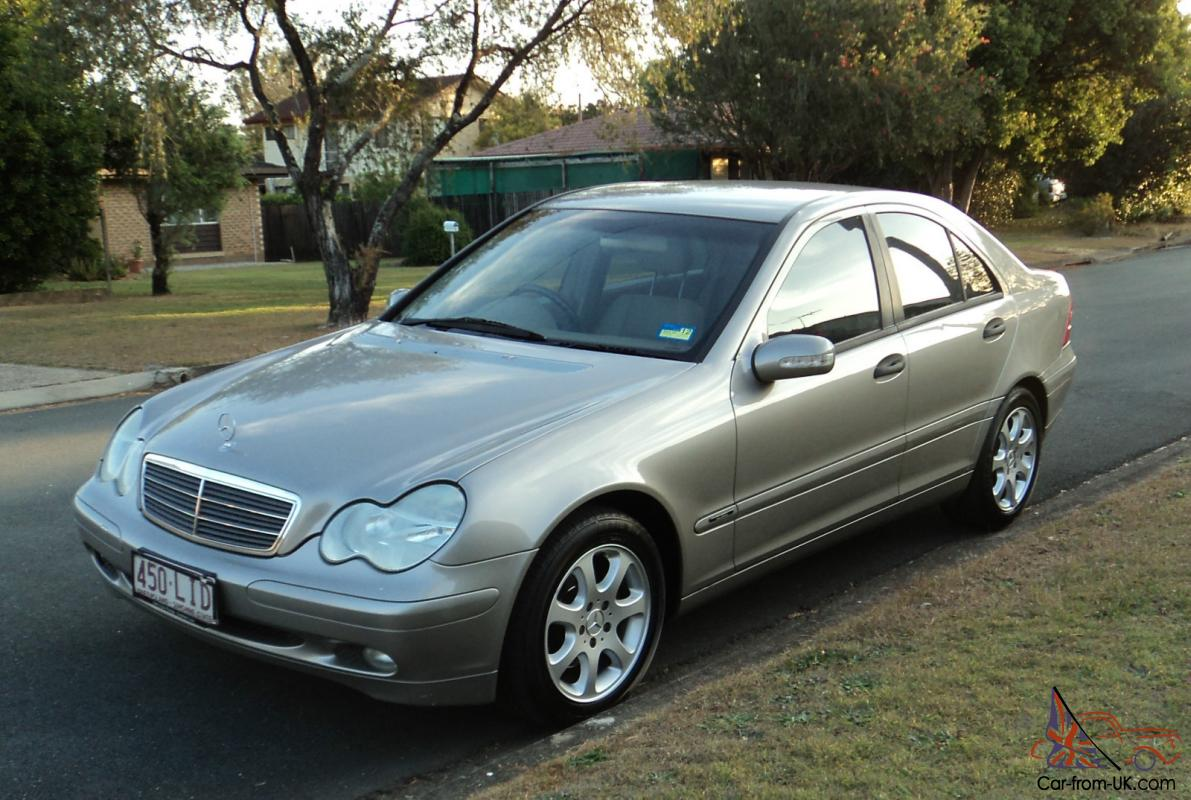 mercedes benz c180 2003 kompressor classic 5spd auto in