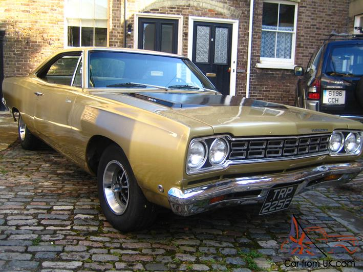 Plymouth roadrunner 1968 american muscle car hot rod for Classic american muscle cars for sale