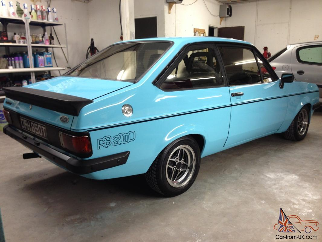 Ford escort mk2 rs2000 custom