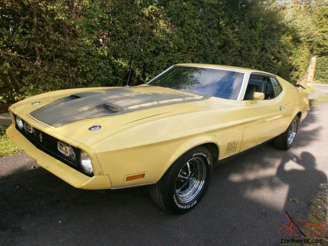 1972 ford mustang mach - photo #32