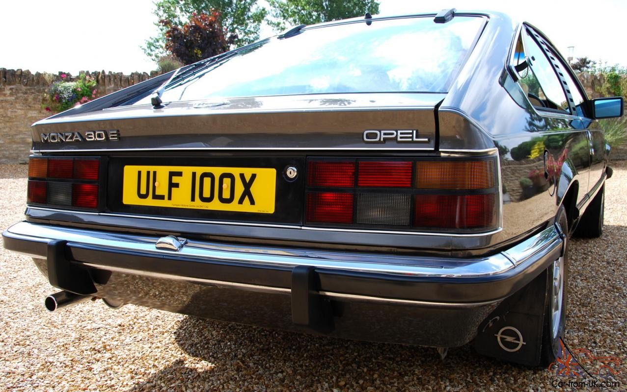 opel monza 3 0e superb example from a collectable limited build of rh car from uk com 1974 Opel Manta Opel Manta