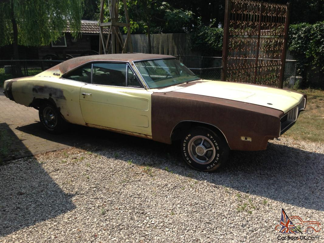 69 dodge charger project car for sale
