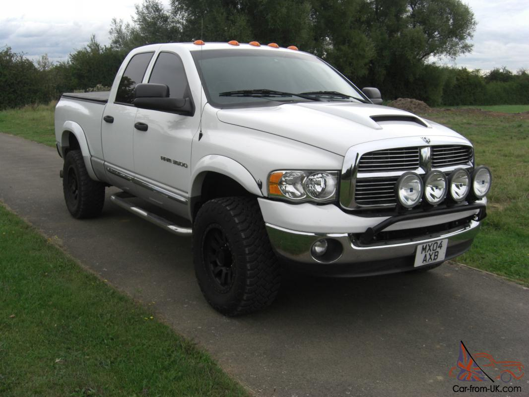 dodge ram 3500 diesel auto 4x4 2004 american monster truck. Black Bedroom Furniture Sets. Home Design Ideas