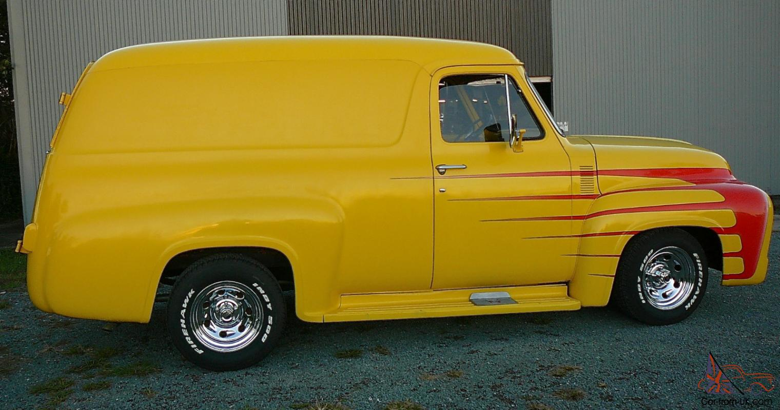 1955 Ford F100 Panel Van In Moreton Qld Pickup Truck For Sale