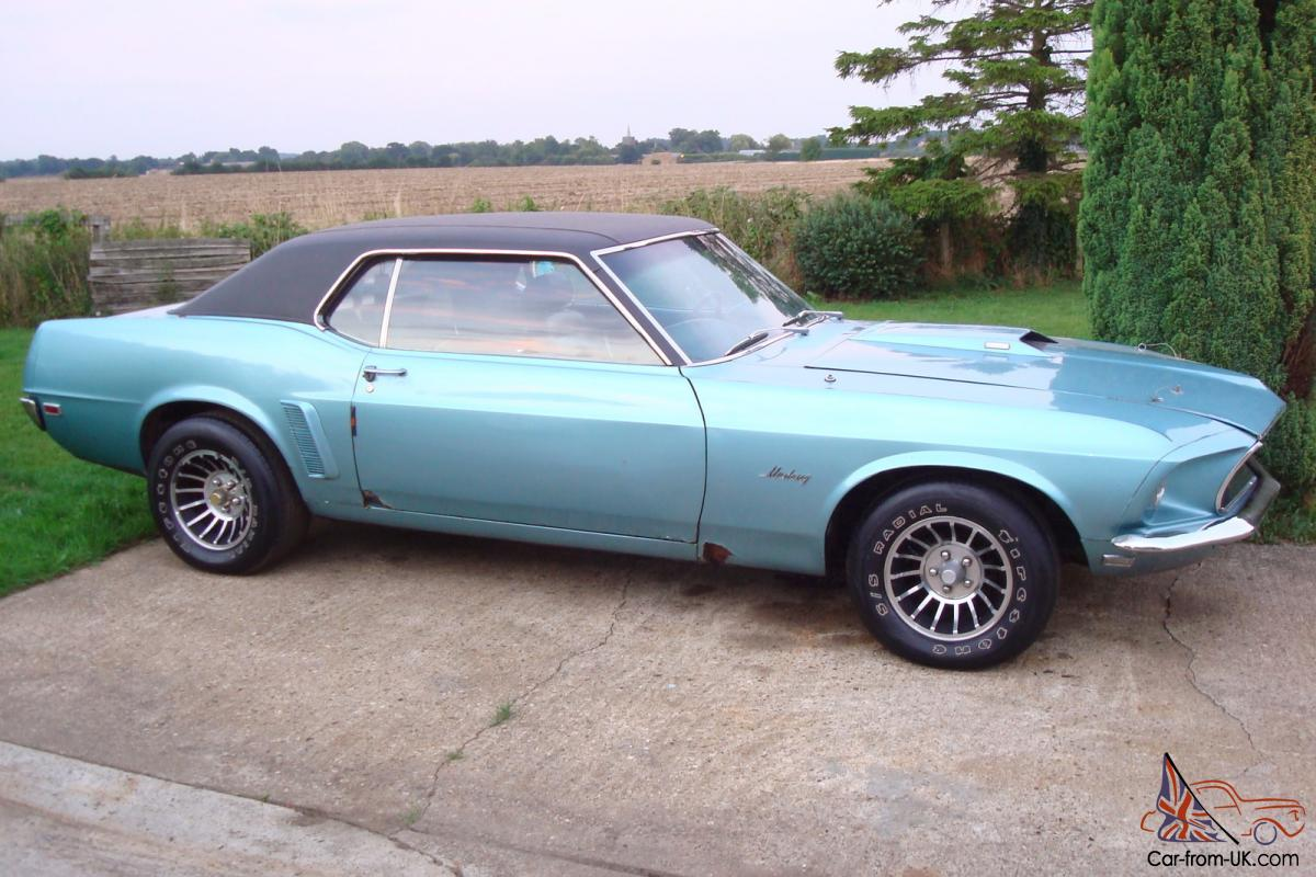 1969 Ford Mustang 351w Auto Coupe Getting Rare Now
