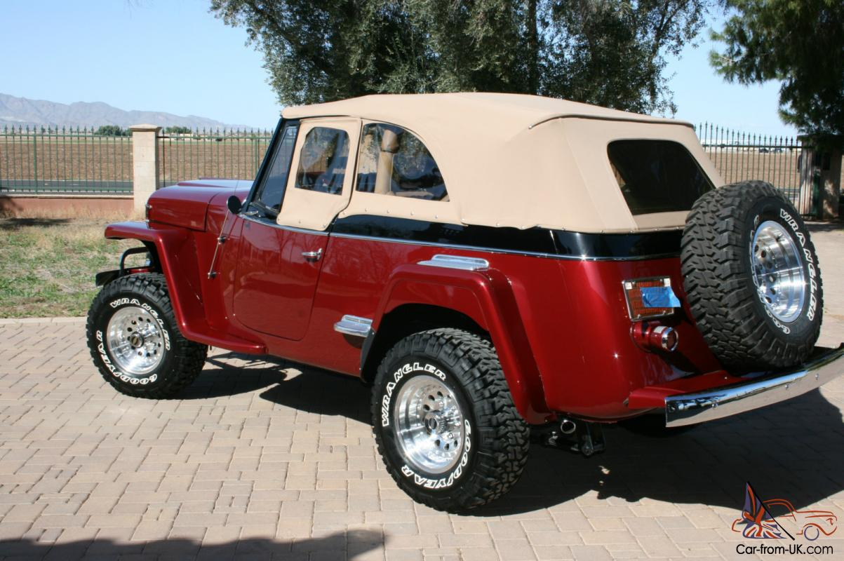 1948 Willys Jeep For Sale WILLYS JEEPSTER 1951 Professional Restoration