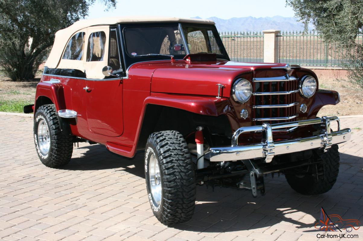 Willys Jeepster 1951 Professional Restoration