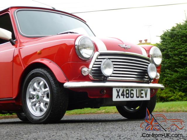 2000 rover mini cooper s works on 17600 miles from new. Black Bedroom Furniture Sets. Home Design Ideas