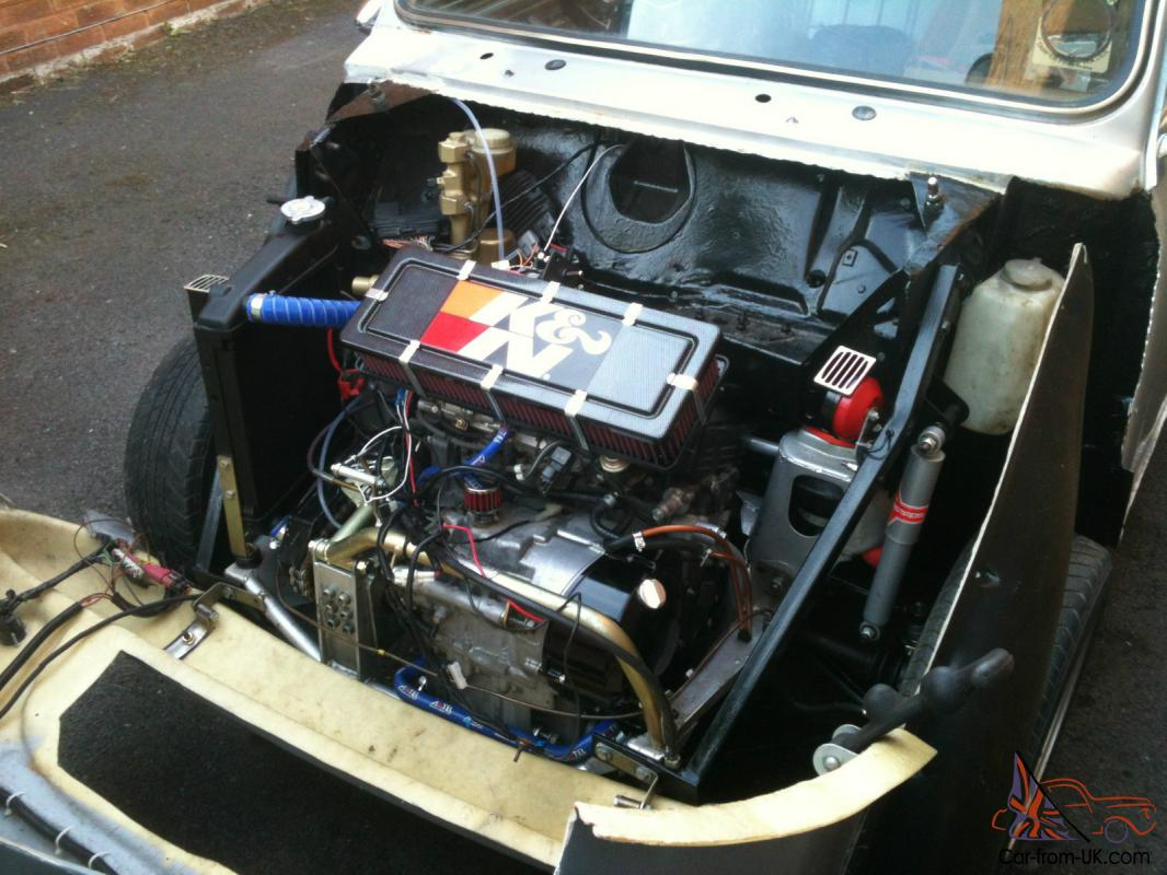 Classic mini cooper with 160bhp 5pw r1 engine for Mini motor cars for sale