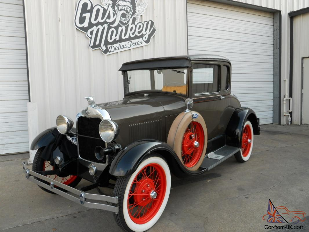 1929 ford model a special coupe original condition offered for Garage ford a longwy