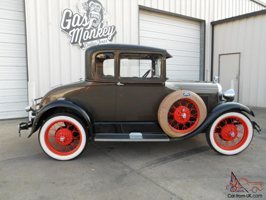 1929 Ford Model A Special Coupe Original Condition Offered By Gas