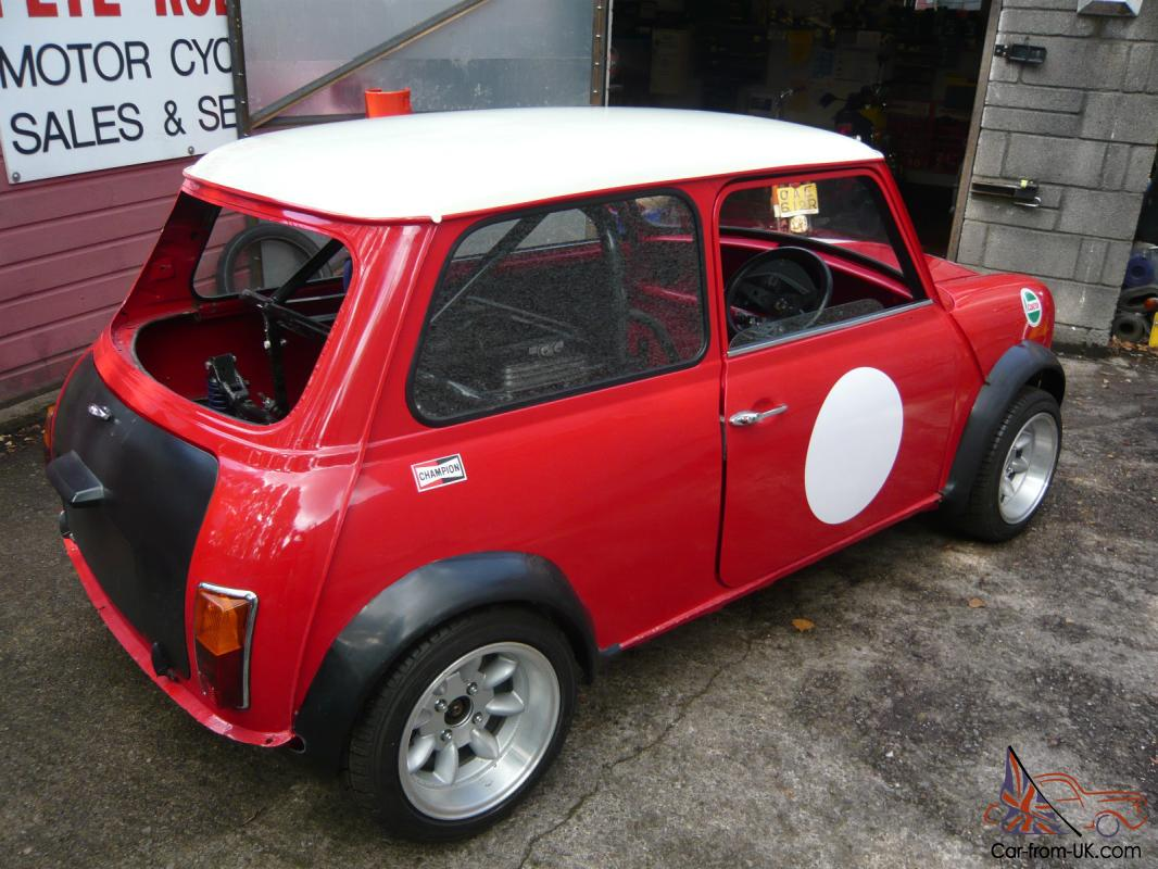 MINI CLASSIC Unfinished Z Cars project Barnfind Bike engined
