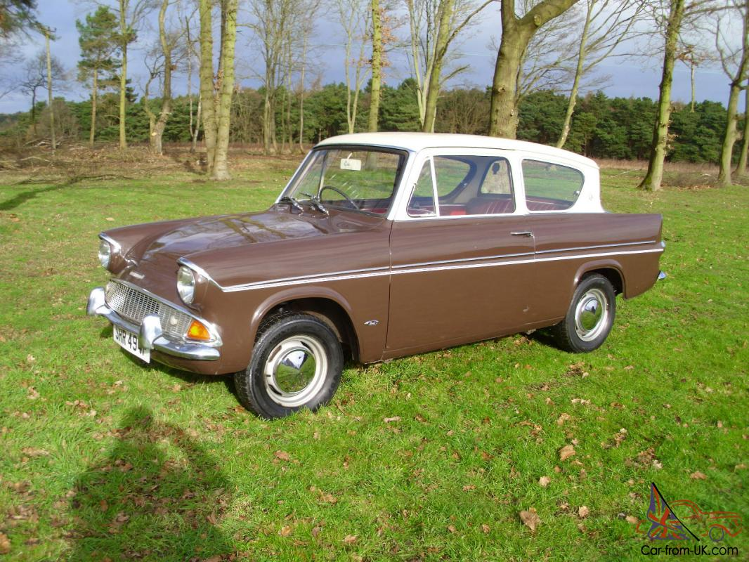 1968 ford anglia deluxe 1200 1 owner 50k miles very good rust free condition. Black Bedroom Furniture Sets. Home Design Ideas