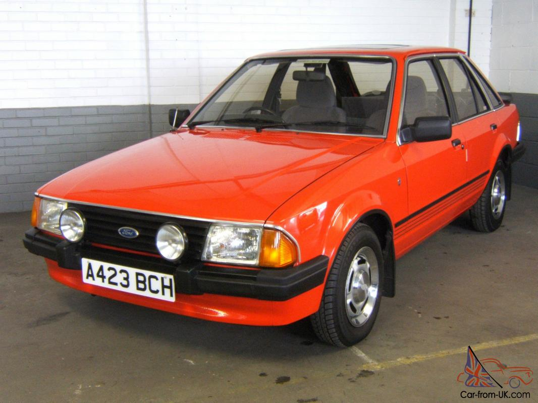 1983 Ford Escort 1 6 Ghia 5 Door Hatchback Totally
