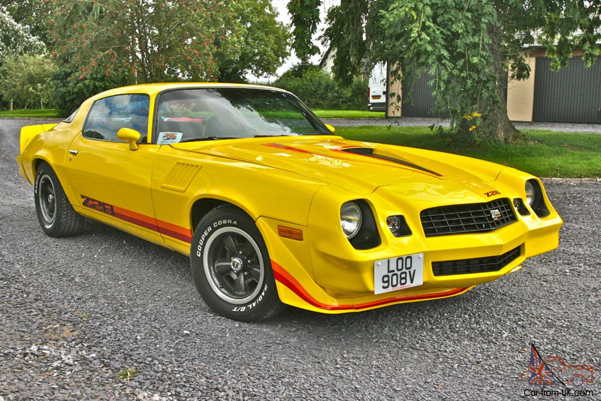 Image Gallery 79 Z28 Yellow