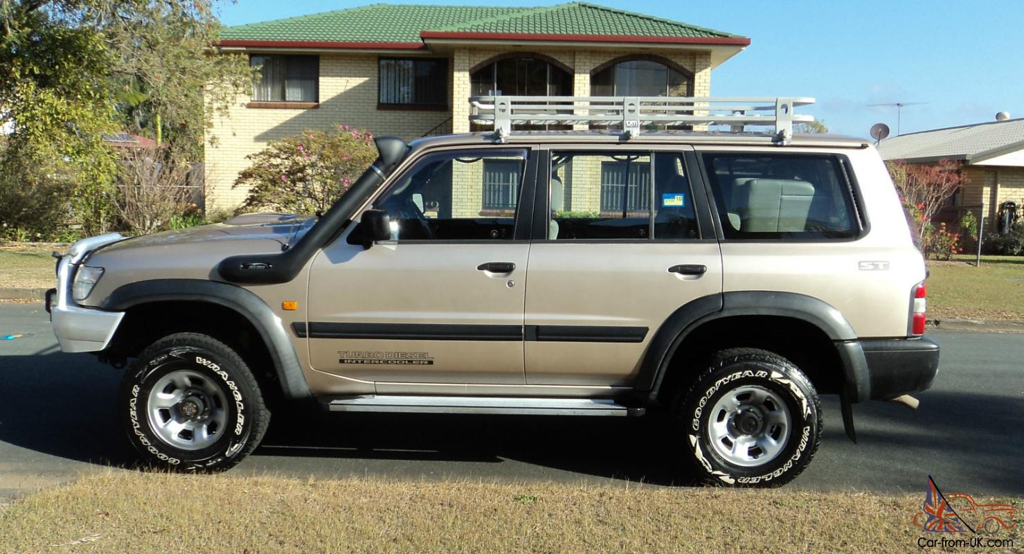 Nissan Patrol St 1998 Turbo Sel 5spd Four Wheel Drive In Brisbane Qld