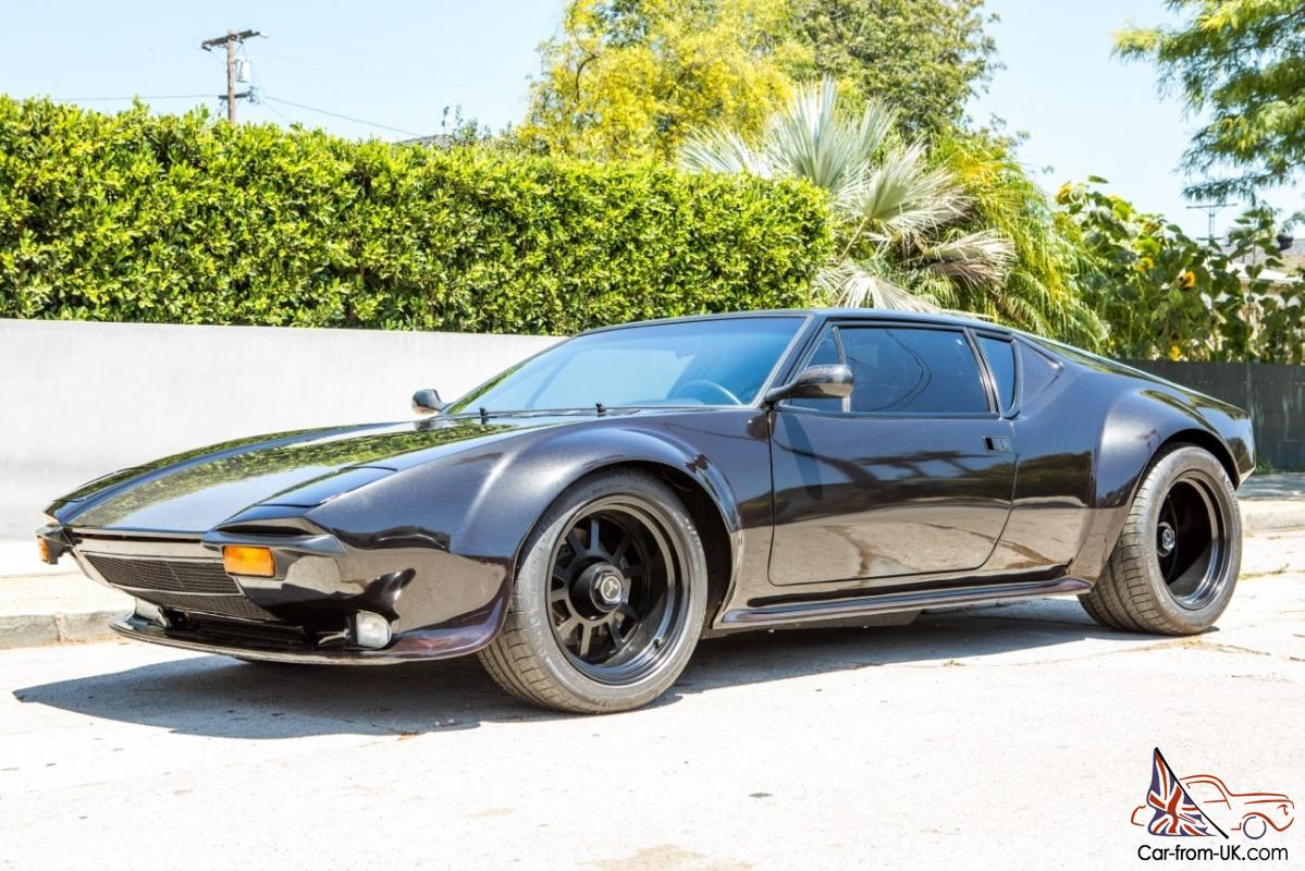 New Ford Pantera >> 1974 DeTomaso Pantera Base 5.8L