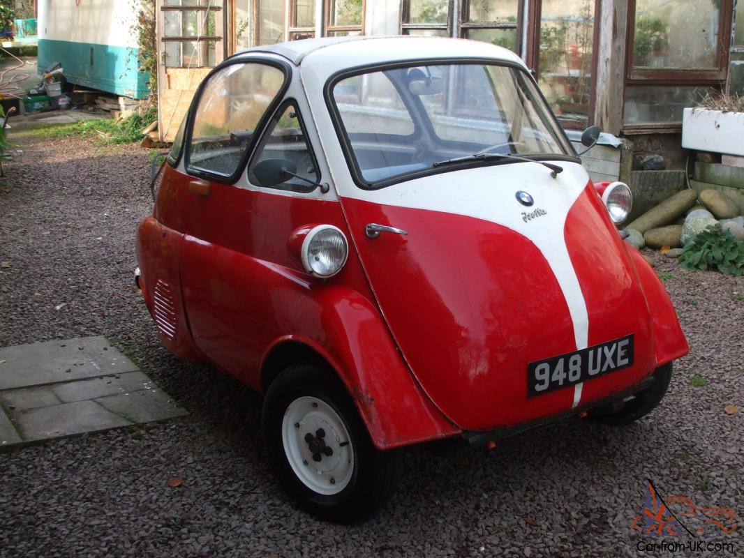 Bmw Isetta Bubble Car 1956 Lhd Moto Coupe