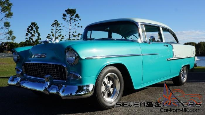 Beautifully Restored V8 1955 Chevy Belair Suit 55 56 57