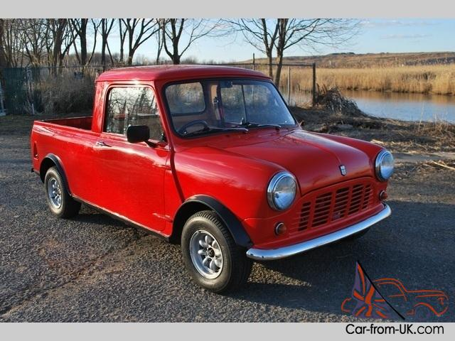 1972 mini cooper pickup 4 speed manual 2 door truck. Black Bedroom Furniture Sets. Home Design Ideas
