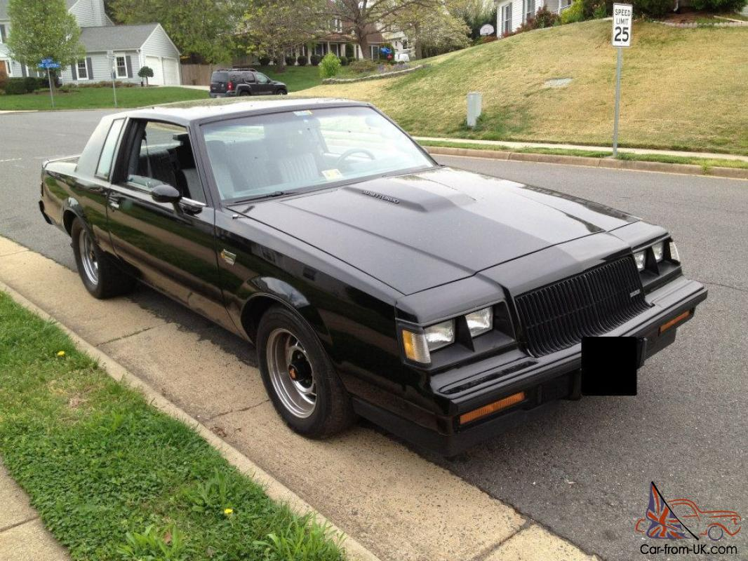 show quality restored 1987 buick grand national for sale. Cars Review. Best American Auto & Cars Review