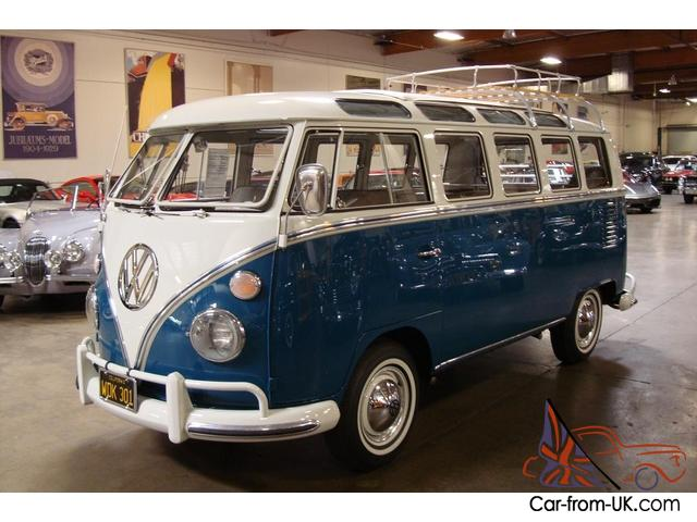 1967 volkswagen 21 window deluxe bus california bus for 1967 21 window vw bus for sale