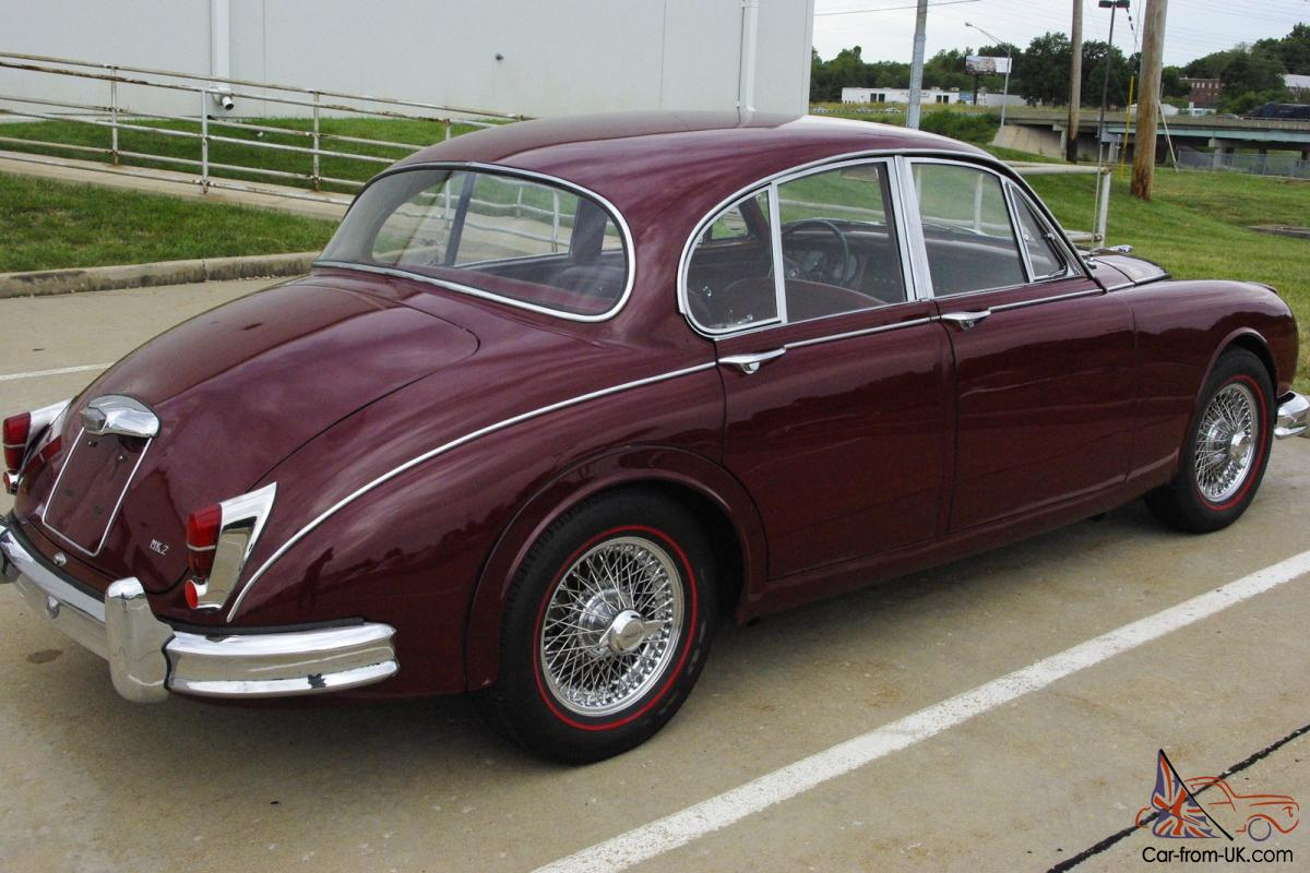1961 jaguar mk ii 3 8 sedan excellent. Black Bedroom Furniture Sets. Home Design Ideas
