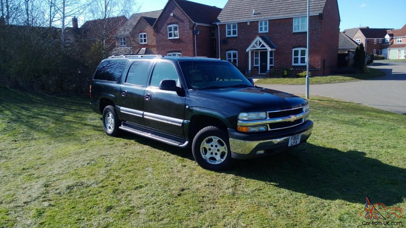 chevrolet suburban 12 mths mot not range rover awesome tow car. Black Bedroom Furniture Sets. Home Design Ideas