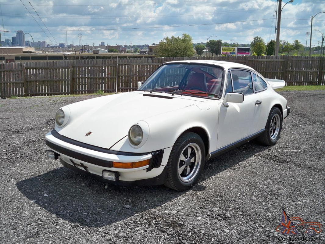 1977 porsche 911 s coupe super nice car priced to sell. Black Bedroom Furniture Sets. Home Design Ideas