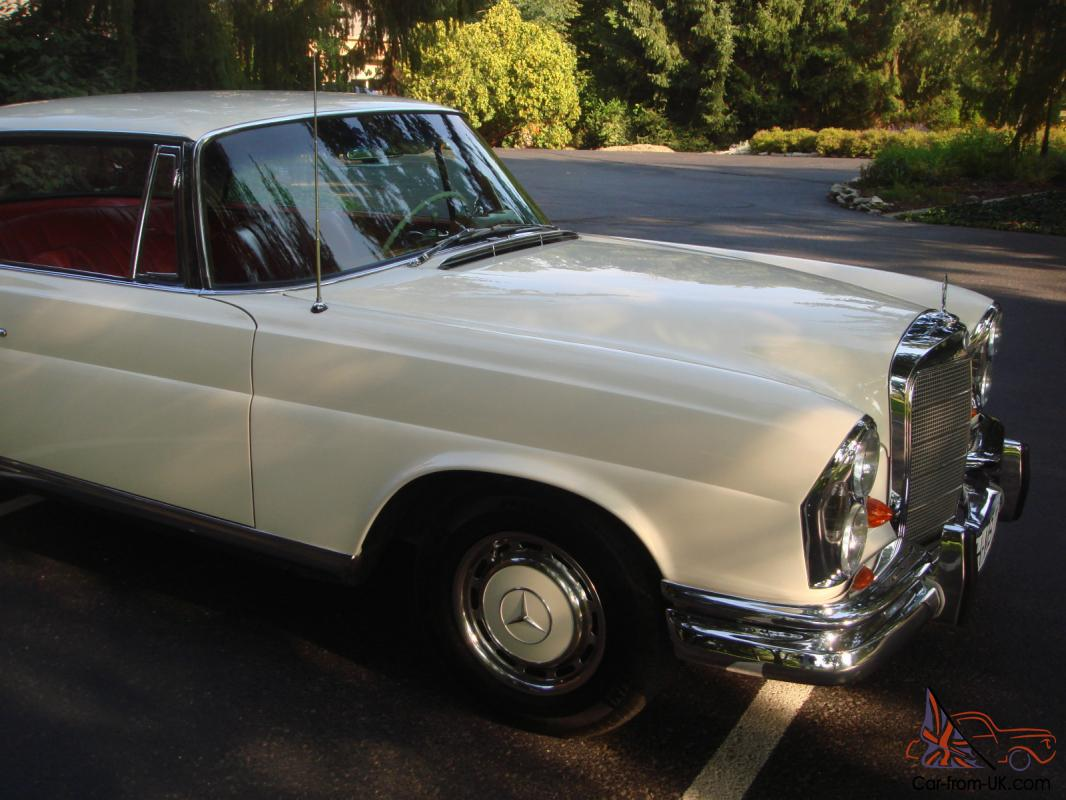 1965 mercedes 220 se coupe two owners very clean for 1965 mercedes benz 220se for sale