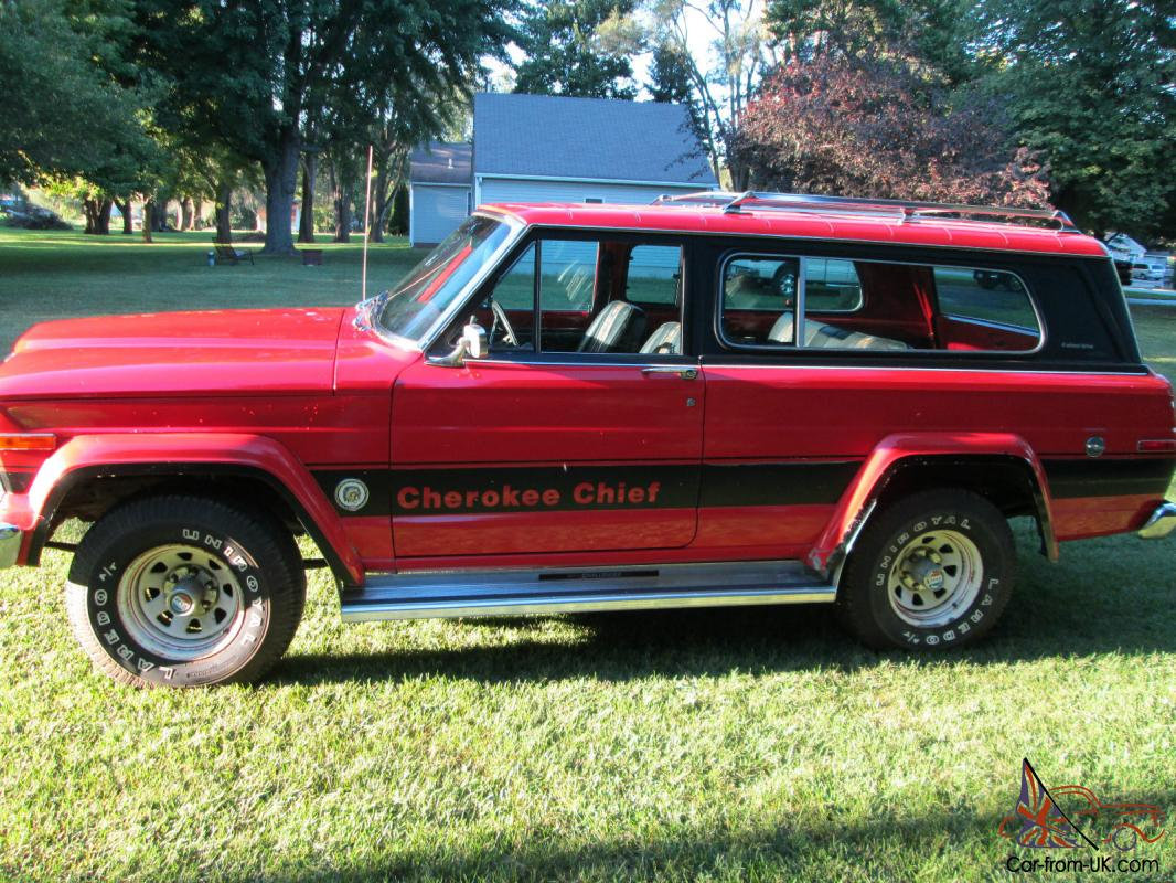 1979 jeep cherokee chief 4x4 360 v8 automatic 40500 original miles. Black Bedroom Furniture Sets. Home Design Ideas