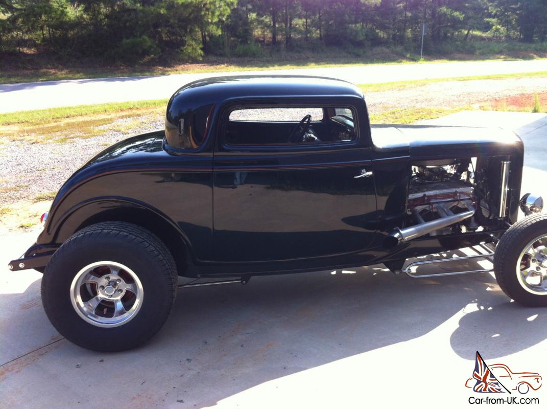 1932 32 FORD three 3 window coupe