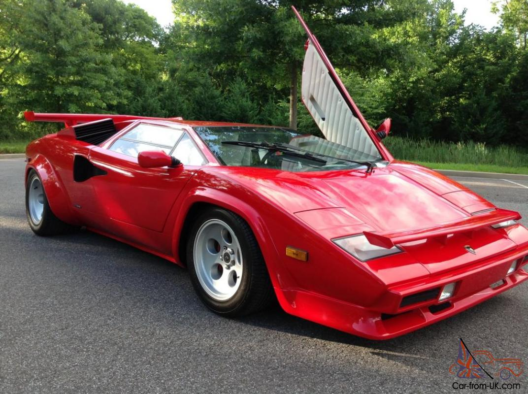 Lamborghini Countach 5000s Rare Offer