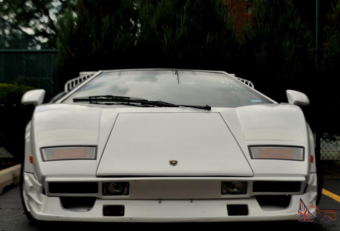 lamborghini countach 25th v8 anniversary replica. Black Bedroom Furniture Sets. Home Design Ideas